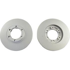 Bremsscheibe Bremsscheibendicke: 22mm, Lochanzahl: 6, Ø: 257mm mit OEM-Nummer 8-94372-435-0
