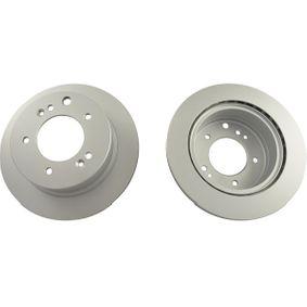 Bremsscheibe Bremsscheibendicke: 20mm, Lochanzahl: 5, Ø: 315mm mit OEM-Nummer 58411-3E-300