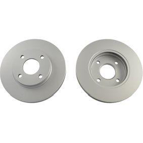 Brake Disc Brake Disc Thickness: 22mm, Num. of holes: 4, Ø: 258,4mm, Ø: 258mm with OEM Number 3573537