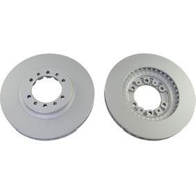Brake Disc Brake Disc Thickness: 24mm, Num. of holes: 6, Ø: 276mm, Ø: 276mm with OEM Number MB 928697