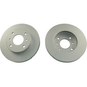Bremsscheibe Bremsscheibendicke: 22mm, Lochanzahl: 4, Ø: 256,5mm, Ø: 257mm mit OEM-Nummer 402067-1E06