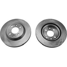 Bremsscheibe Bremsscheibendicke: 20mm, Lochanzahl: 4, Ø: 259mm mit OEM-Nummer 40206 00QAA