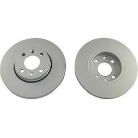Bremsscheibe Bremsscheibendicke: 22mm, Lochanzahl: 4, Ø: 260mm mit OEM-Nummer 40206-AX600-