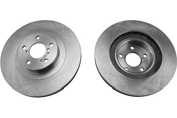 KAVO PARTS  BR-8208 Bremsscheibe Bremsscheibendicke: 24mm, Lochanzahl: 5, Ø: 260mm
