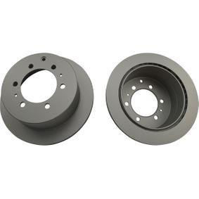 Disque de frein Épaisseur du disque de frein: 18mm, Nbre de trous: 6, Ø: 312mm avec OEM numéro 42431-60190