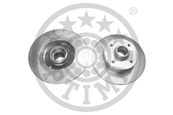 OPTIMAL  BS-0240C Bremsscheibe Bremsscheibendicke: 10mm, Ø: 226mm