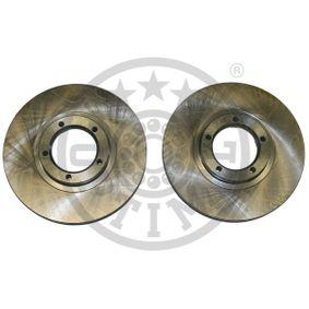 Bremsscheibe Bremsscheibendicke: 24mm, Ø: 254mm mit OEM-Nummer 5 025 610