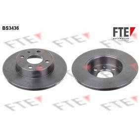 Bremsscheibe Bremsscheibendicke: 12mm, Lochanzahl: 4, Ø: 241mm mit OEM-Nummer 71738423