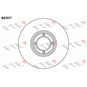 Bremsscheibe Bremsscheibendicke: 9,6mm, Lochanzahl: 4, Ø: 213mm mit OEM-Nummer 21A 2612