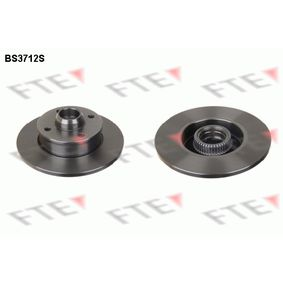 Bremsscheibe Bremsscheibendicke: 10mm, Lochanzahl: 4, Ø: 226mm, Ø: 226mm mit OEM-Nummer 191501639A