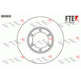 Bremsscheibe Bremsscheibendicke: 22mm, Lochanzahl: 6, Ø: 257mm mit OEM-Nummer 8-94372435-0