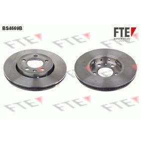 FTE  BS4669B Bremsscheibe Bremsscheibendicke: 22mm, Lochanzahl: 5, Ø: 256mm