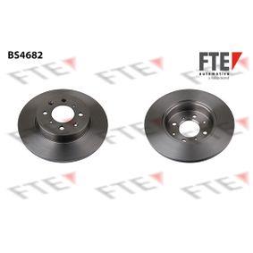 Спирачен диск дебелина на спирачния диск: 13мм, брой на дупките: 4, Ø: 261,5мм с ОЕМ-номер SDB 1005 00