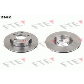 Bremsscheibe Bremsscheibendicke: 9mm, Lochanzahl: 5, Ø: 230mm mit OEM-Nummer JZW 698 601 AC