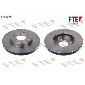 Brake Disc Brake Disc Thickness: 23mm, Num. of holes: 4, Ø: 257,8mm with OEM Number 1892668