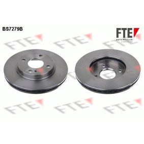 Brake Disc Brake Disc Thickness: 23mm, Num. of holes: 4, Ø: 257,8mm with OEM Number 1 892 667