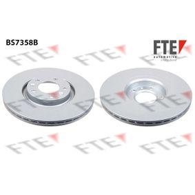 Bremsscheibe Bremsscheibendicke: 22mm, Lochanzahl: 5, Ø: 302mm mit OEM-Nummer 4249,11