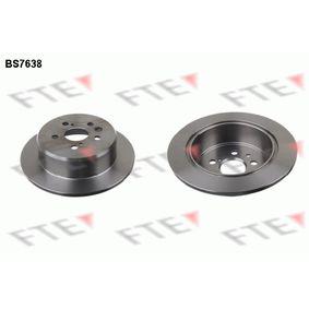 Disque de frein Épaisseur du disque de frein: 10mm, Nbre de trous: 5, Ø: 269mm avec OEM numéro 42431 20200