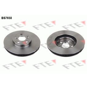 Disque de frein Epaisseur du disque de frein: 25mm, Nbre de trous: 5, Ø: 275mm avec OEM numéro 4351220710