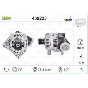 Lichtmaschine Rippenanzahl: 6 mit OEM-Nummer 12311432976