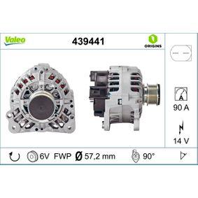 Lichtmaschine Rippenanzahl: 6 mit OEM-Nummer 038 903 024 A