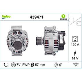 Lichtmaschine Rippenanzahl: 7 mit OEM-Nummer A 2 711 5408 0280