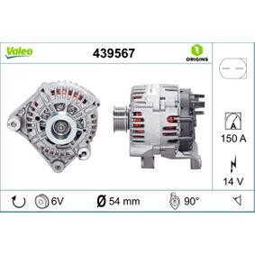 Lichtmaschine Rippenanzahl: 6 mit OEM-Nummer 12317797660