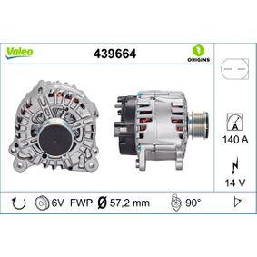 Lichtmaschine Rippenanzahl: 6 mit OEM-Nummer 06F.903.023AX