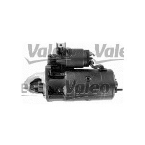 Motorino d'avviamento (458504) per per Motorino D'avviamento FIAT DUCATO Pianale piatto/Telaio (230) 2.8 TDI dal Anno 12.1998 122 CV di VALEO