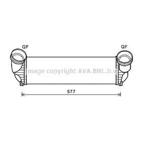 Intercooler BMW X5 (E70) 3.0 d de Año 02.2007 235 CV: Radiador de aire de admisión (BWA4543) para de PRASCO