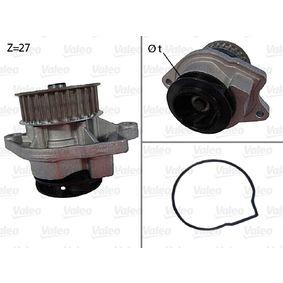 Pompa acqua (506577) per per Pompa Acqua VW POLO (6N2) 1.4 dal Anno 10.1999 60 CV di VALEO
