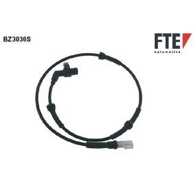 Sensor, Raddrehzahl Länge: 930mm mit OEM-Nummer 9 6FB 2B372BE