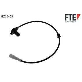 Sensor, Raddrehzahl Länge: 630mm mit OEM-Nummer 1238 918