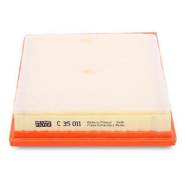 Luftfilter MANN-FILTER C 35 011 4011558077228