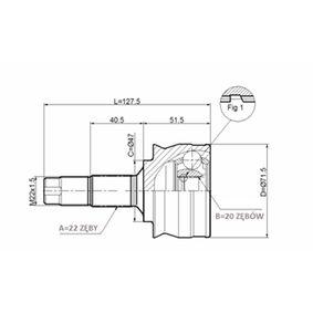 Joint Kit, drive shaft C.325 PANDA (169) 1.2 MY 2020