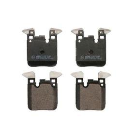 Brake Pad Set, disc brake C2B030ABE 3 Saloon (F30, F80) 320d 2.0 MY 2014