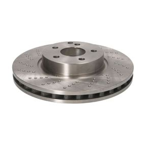 Disco freno Spessore disco freno: 32mm, N° fori: 5, Ø: 322mm, Ø: 322mm con OEM Numero A 000 421 30 12