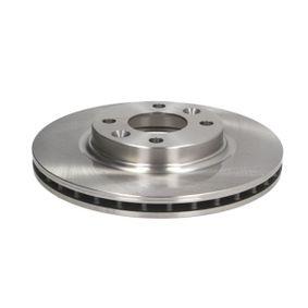 Brake Disc Brake Disc Thickness: 22mm, Num. of holes: 4, Ø: 258mm, Ø: 258mm with OEM Number 453 420 01 00