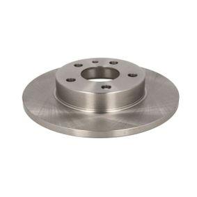 Bremsscheibe Bremsscheibendicke: 11mm, Lochanzahl: 5, Ø: 240,5mm mit OEM-Nummer 606 708 04