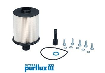 PURFLUX  C869 Fuel filter Height: 142mm