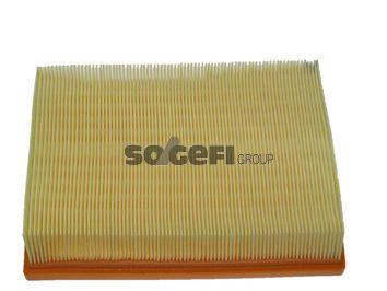 FRAM  CA10445 Luftfilter Länge: 246mm, Breite: 196mm, Höhe: 50mm, Länge: 246mm