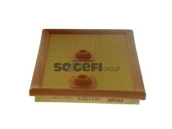 FRAM  CA11503 Air Filter Length: 270mm, Width: 190mm, Height: 25mm, Length: 270mm