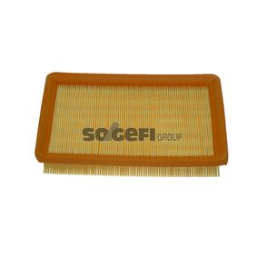 Air Filter Length: 253mm, Width: 174mm, Height: 40mm, Length: 253mm with OEM Number 281132D000