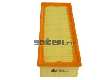 FRAM  CA9711 Luftfilter Länge: 345mm, Breite: 135mm, Höhe: 70mm