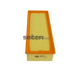 Luftfilter Länge: 345mm, Breite: 135mm, Höhe: 70mm, Länge: 345mm mit OEM-Nummer 1K0129620D