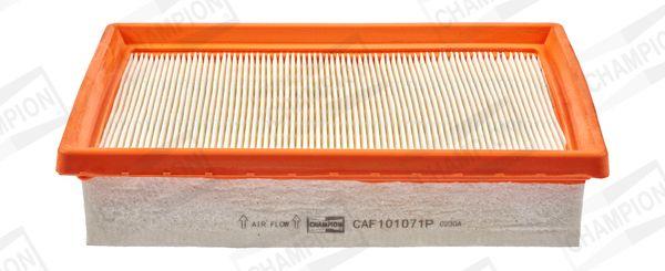 CHAMPION  CAF101071P Luftfilter Länge: 243mm, Breite: 171mm, Höhe: 49mm, Länge: 243mm