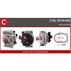 Generator Rippenanzahl: 6 mit OEM-Nummer 012 154 9802