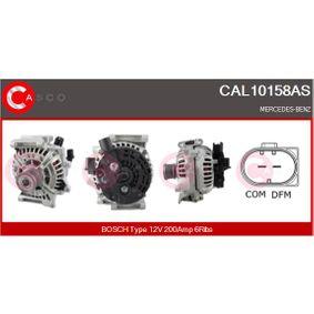 Lichtmaschine Rippenanzahl: 6 mit OEM-Nummer 0131 540 002