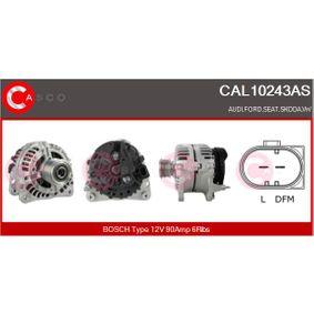 Lichtmaschine Rippenanzahl: 6 mit OEM-Nummer 038903024A
