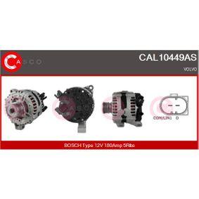 Lichtmaschine Rippenanzahl: 5 mit OEM-Nummer 30659136